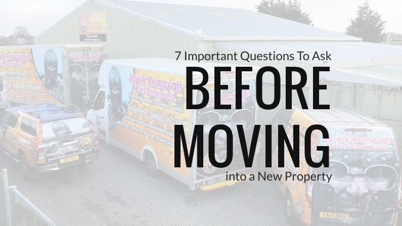 7 Important Questions To Ask Before Moving into a New Property