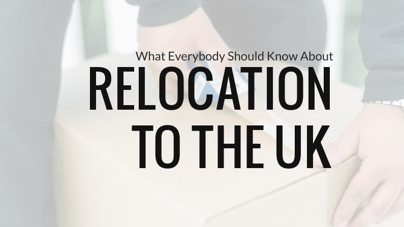 What Everybody Should Know About Relocating to The UK