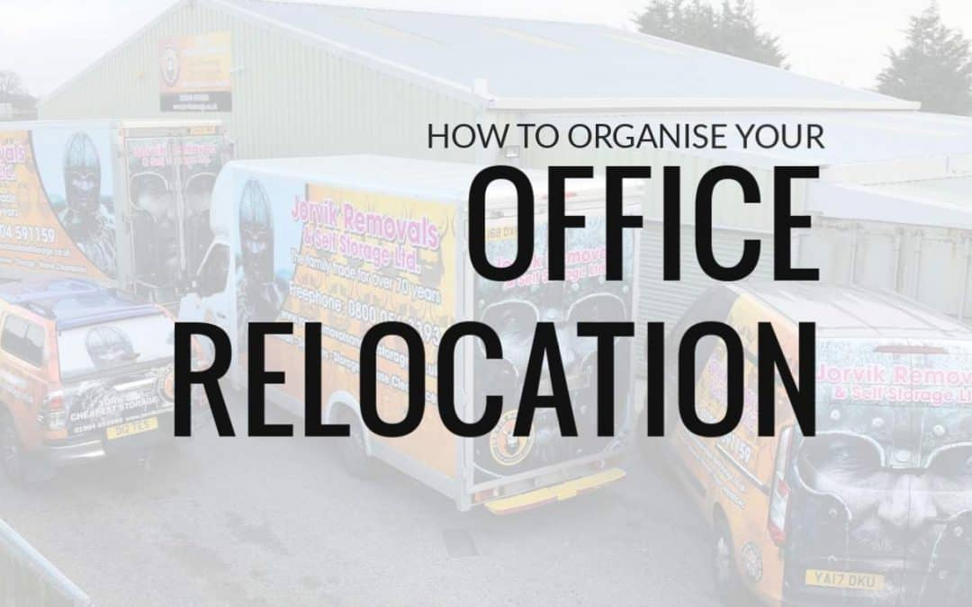 How To Organise Your Office Removal / Relocation?